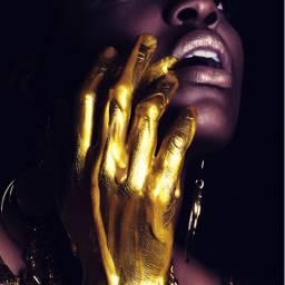 metallic freetoedit golden