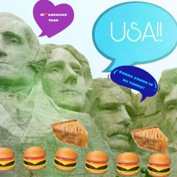 ircpresidentsday presidentsday freetoedit presidents burgerandfries