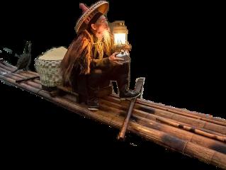 freetoedit oldman lantern raft