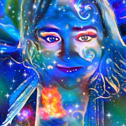 echeadswap headswap freetoedit galaxygirl galaxy