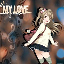freetoedit anime animegirl lovelive kotoriminami