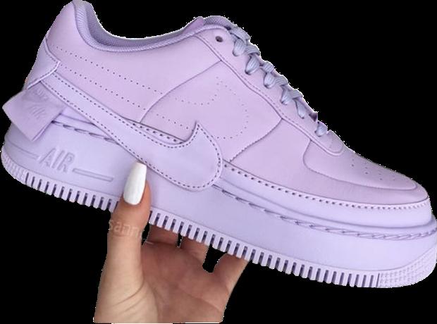 #nike #airforce1 #nikeairforce #purple #trainer #sneaker #png #hand #cute #trendy #freetoedit