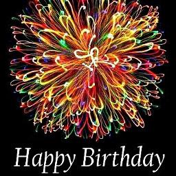 freetoedit fireworks happybirthday text greeting day