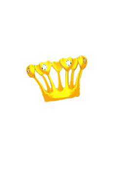 snapchat face filter crown head freetoedit