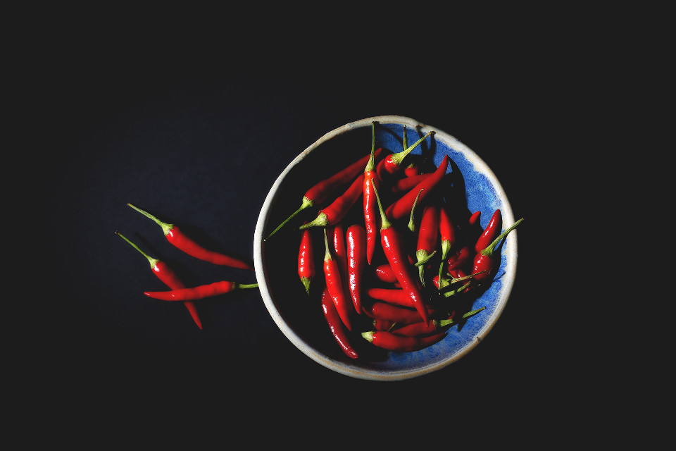 Your creativity has no limits. Try remixing Unsplash (Public Domain) #chili #spicy #freetoedit