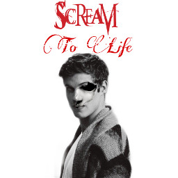 freetoedit scream screammask danielsharman text