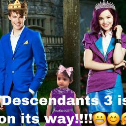 freetoedit descendants3 excited