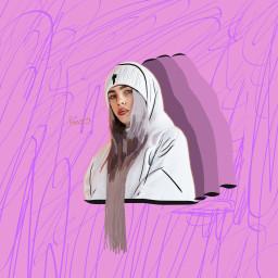 billie outline draw billieeilish