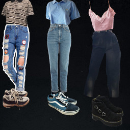 aestheticoutfits cutie shirt shoes freetoedit