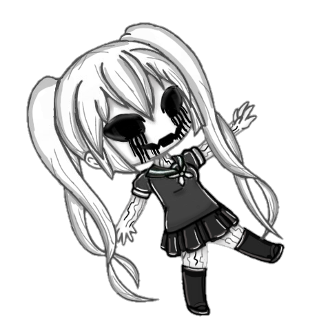 A Version Of Fungirl That I Make On Gacha Life Is Now