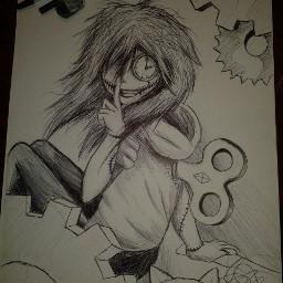 freetoedit clockwork drawing creepypasta