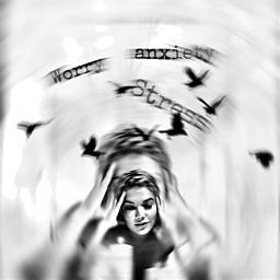 trappedinside chaos noise emotions stress freetoedit