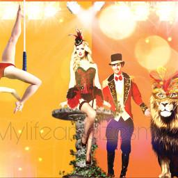 eccarnival carnival freetoedit trapeze magician
