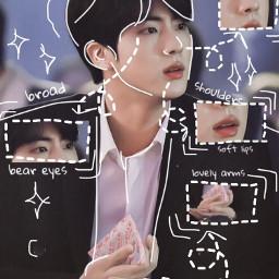anatomy bts handsome kpop jin freetoedit