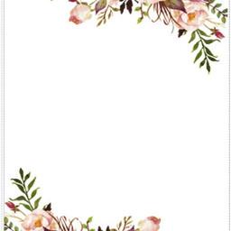 frame floral floralframe wedding bridalshower freetoedit