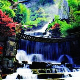 freetoedit colorful naturelovers oilpaintingeffect waterfalls