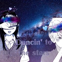 dynamolli aesthetic anime contestentry galaxy freetoedit