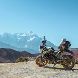 motorcycle nature background backgrounds freetoedit
