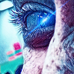 eye filter galaxy color freetoedit
