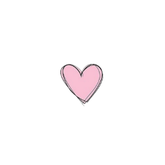heart pink outlined light lightpink freetoedit