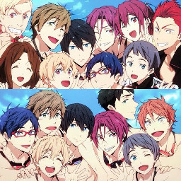 anime free iwatobi freeiwatobiswimclub swimming freetoedit