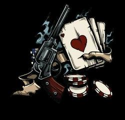 gun cards poker freetoedit