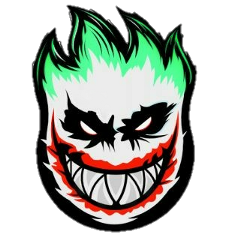 Largest Collection Of Free To Edit Joker Makeup Stickers On