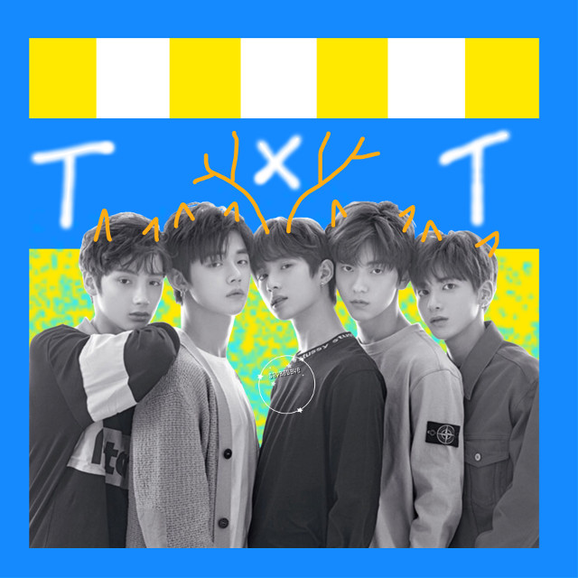 ❁ txt debut • today is txt's debut! I honestly really liked their album! I think Our Summer is my fav but the singing on Blue Orengeade was really good too. I liked it!  { requests closed } ✧credits✧   ◌ txt from @kpop_armyy01  《 3/4/19 》 ↳ tags↴ #freetoedit #txt #yeonjun #taehyun #hueningkai #soobin #beomgyu