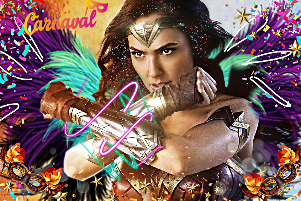#freetoedit #wonderwoman #amazing #carnival #carnivaltime #wonderwomanfanart