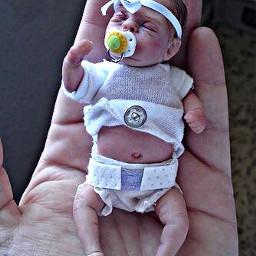 freetoedit tiny baby toy plastic