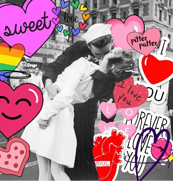 #freetoedit #kiss #love #voteme#vote #vote4me