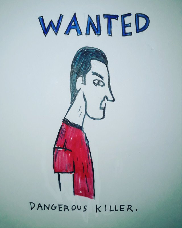 #freetoedit #killer #wanted #wantedposter #wantedsign #serialkiller #serialkillers #artist #acrylic #paint #painting #painter #artistic #draw #drawing #artiste #sketch #fineart #toon #toons #cartoons #photos #abstaction #artiste #art #modernart #modernartist #cartoonist #cartoon #photo #photograph #photography #face #head #hair #haistyle #red #remixit