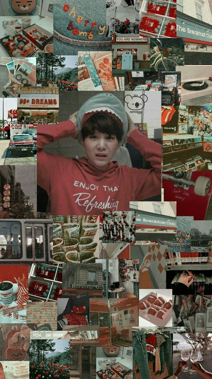 Suga Edit Aesthetic Yoongi Bts Wallpaper
