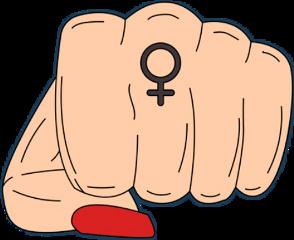 freetoedit fist girl grlpwr girlpower scgirlpower