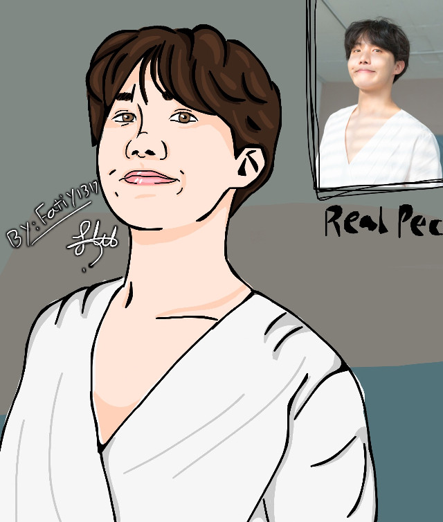 Jhope fanart 😍💙 ... —— What do u think about it ? ☺️ I spend 1 hour maybe and i lovveee itt it looks Different not like my other drawing it's so good i think i did well with this  * proud of herself * Lol😆😆 —— ... #jhope #jhopefanart #bts #junghoseok #hoseok #btsfanart #mydrawing #kpopfanart #kpop #art