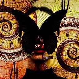 artistic freetoedit timeless humannature butterflywings