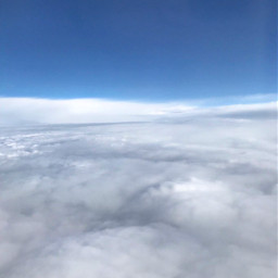 freetoedit airplaneview cloud clouds background