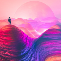 picsart freetoedit remixit mars space