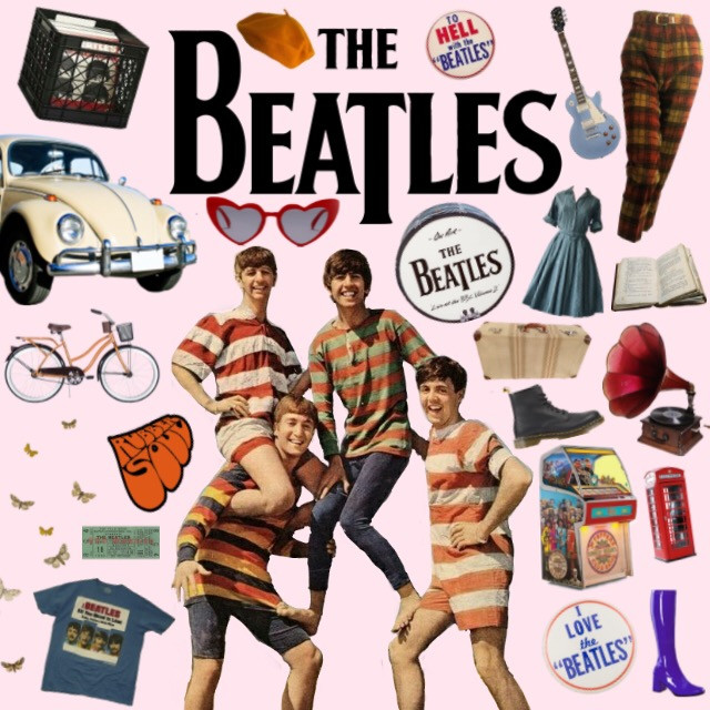 #moodboard#beatles#thebeatles#music#1960s#60s#retro#rollingstones#music