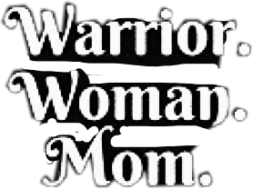 warrior woman mom text period freetoedit