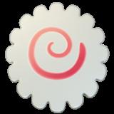 fishcake emoji food pinkswirl white freetoedit