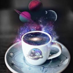 instagram freetoedit coffee space artistic