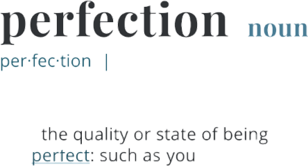 love perfect perfection dictionary freetoedit
