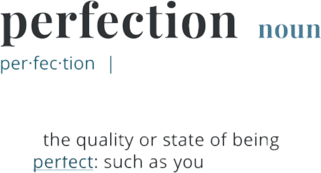 #love #perfect #perfection #dictionary