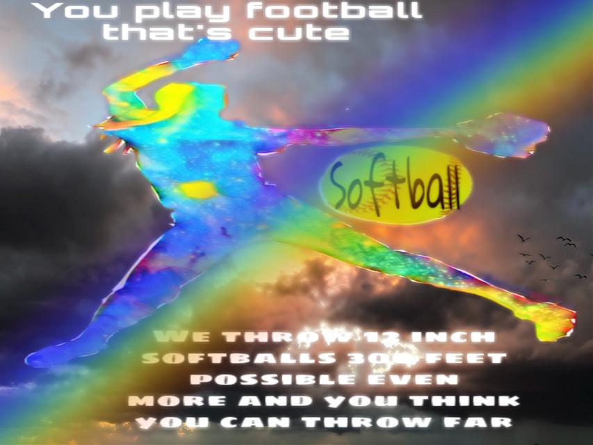 #freetoedit #softball