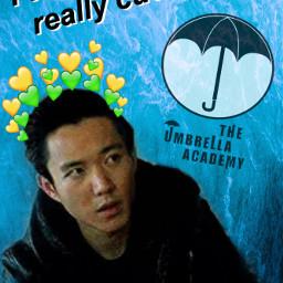 theumbrellaacademy umbrelladayremix umbrellaacad ben benhargreeves freetoedit