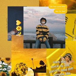 freetoedit lockscreen yellow hanbin edit