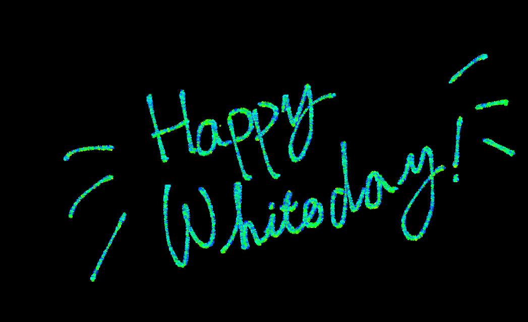 ホワイトデー Whiteday #ホワイトデー #Whiteday #freetoedit