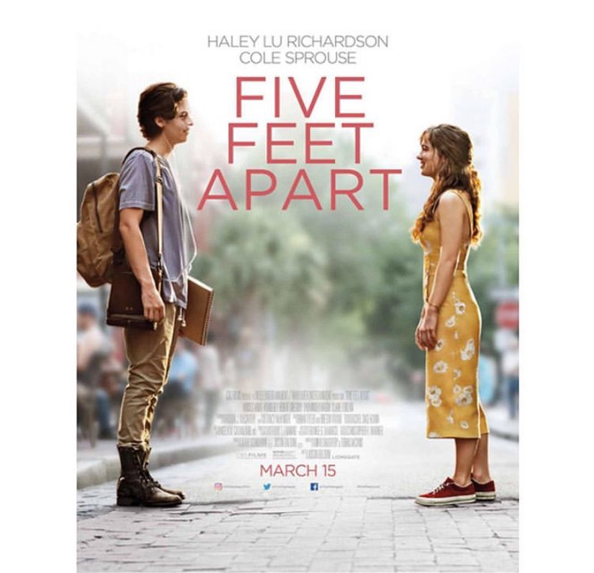 Go see this movie. Bring tissues. Don't wear mascara. Get some sour patch kids. #fivefeetapart #freetoedit