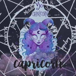 freetoedit capricorn zodaic capricornio